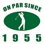1955 Golfer's Birthday by thepixelgarden