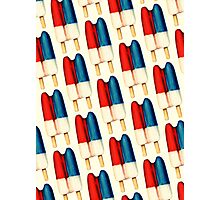 Double Popsicle Pattern Photographic Print