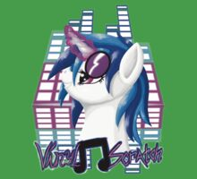 MLP Vinyl Scratch: For The Love Of Music Kids Clothes
