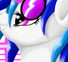 MLP Vinyl Scratch: For The Love Of Music Sticker