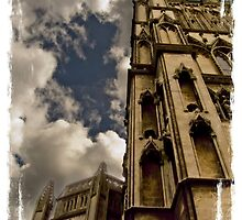 St. Mary Redcliff Church tower by yanoschick