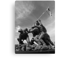 Flag Still Flies Canvas Print