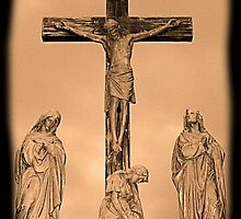 #424   The Crucifixion by MyInnereyeMike