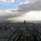 As far as you can see - Montparnasse Tower and wider area of Paris. by mikequigley
