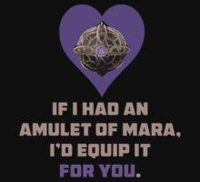 Amulet Of Mara Skyrim by GlitterZombie