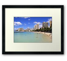 Gathering Place - Oahu Framed Print