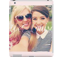 Zoe Sugg and Louise Pentland (Zoella & SprinkleOfGlitter) iPad Case/Skin