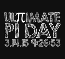 Ultimate Pi Day Chalk Style 2015 by Albany Retro