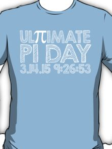 Ultimate Pi Day Chalk Style 2015 T-Shirt