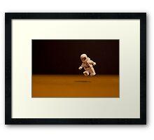 Spaceman Framed Print