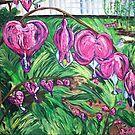 """Bleeding Hearts"" by Adela Camille Sutton"