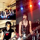 Joan Jett Band by Nancy Stafford