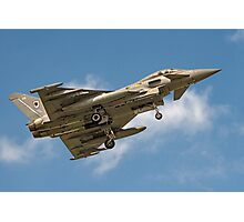 Eurofighter Typhoon FGR.4 ZJ931/DA Photographic Print