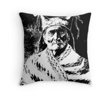 GERONIMO (1888) Throw Pillow