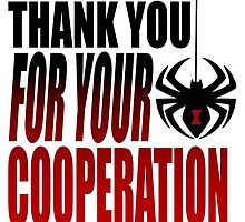 """Black Widow """"Thank You For Your Cooperation"""" by impossible-m"""