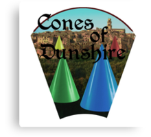 Cones of Dunshire. Canvas Print