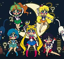Sailor Moon Tribute by SaMtRoNiKa