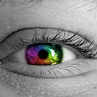 Rainbow Eye by Brooke Ottley
