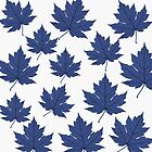 Blue Leaves by LawrenceA