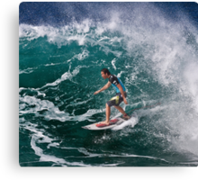Jordy Smith.2 at 2010 Billabong Pipe Masters In Memory Of Andy Irons Canvas Print