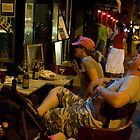Sidewalk Cafe at Night, New York by jhorn1