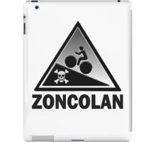 Monte Zoncolan Cycling Road Sign Gradient Shirt iPad Case/Skin