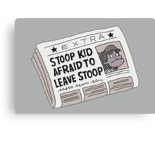 Stoop Kid Canvas Print