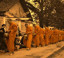 Alms Giving by HappyYakImages