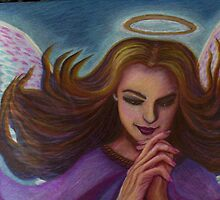 Praying Angel by KathyArt