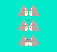 Hug Me, Totoro by XEENYEE