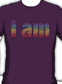 I am (Border) T-Shirt