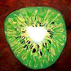 """Kiwi Coeur' by Adela Camille Sutton"