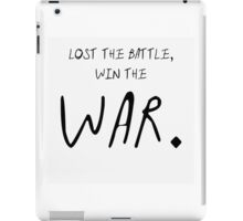 Paramore Now Lost the Battle Lyric iPad Case/Skin