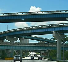 Freeway Bridges by caymanlogic