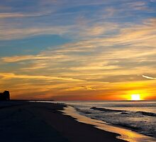 Winter Morning on the Gulf by Mark McKinney