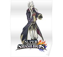 Super Smash Bros. 3DS/Wii U Robin(female) Poster