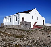 Croagh Patrick church by John Quinn