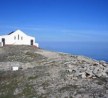 Croagh Patrick church 2 by John Quinn