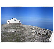 Croagh Patrick church 2 Poster