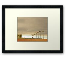 The Kindness of Strangers Framed Print