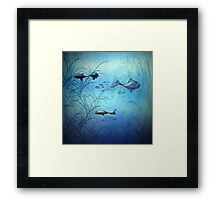 Fishy Fishes Framed Print