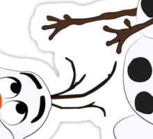Olaf Sticker