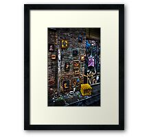 Picture picture on the wall... Framed Print
