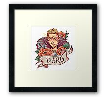 DANG Commander Framed Print