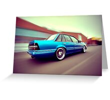 Blue Commodore VL Greeting Card
