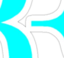 RF logo Sticker