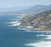Woollongong (new road over ocean) by jessb0897