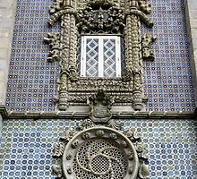Portugese Late Gothic Style Facade by Marilyn Harris