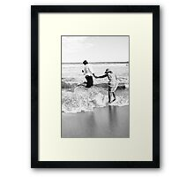 Save the date! Framed Print