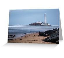 St. Mary's Lighthouse Greeting Card